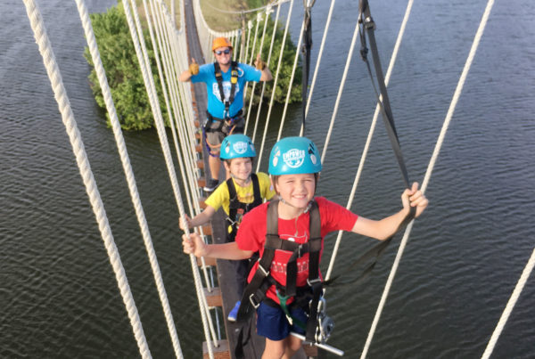 Zip line Course Features Empower Adventures